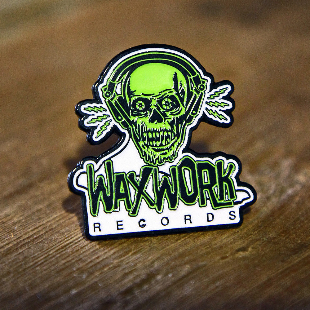 Waxwork Records Ghoul Logo Pin