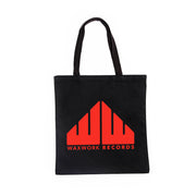 Waxwork Records Red Logo Tote Bag
