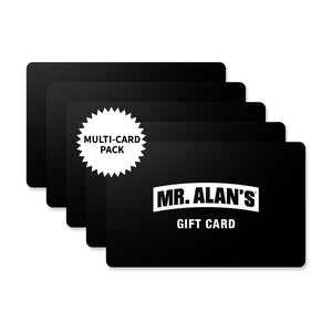 Mr. Alan's $10 In-Store Gift Card 5 Pack-Mr. Alan's