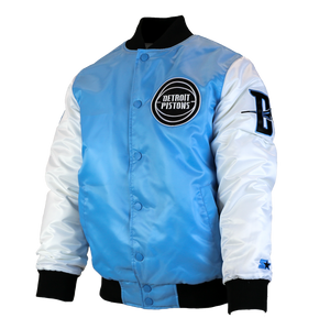 "Detroit Pistons Starter Jackets (Men's) ""Tobacco Road"""