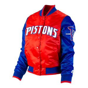 "Women's Starter Detroit Pistons ""Red, White and Pistons Blue"""