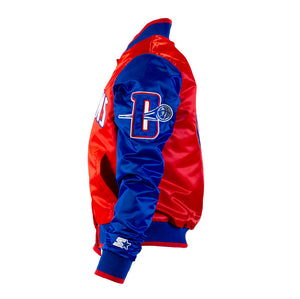 "Detroit Pistons Starter Jacket (Women's) ""Red, White and Pistons Blue"""