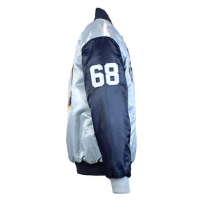 Men's Detroit Tigers 50th Anniversary Starter Jacket - Blue/Grey