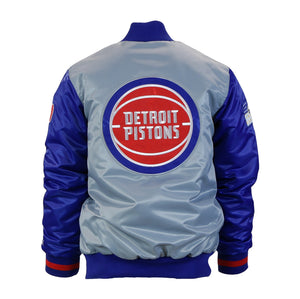 "Detroit Piston Starter Jacket (Men's) ""313 Day"""