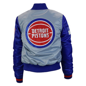 "Detroit Piston Starter Jacket (Women's) ""313 DAY"""