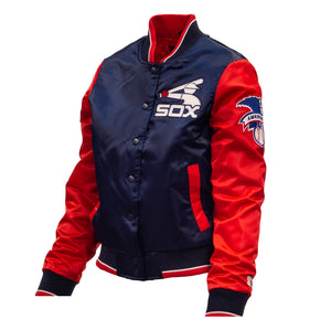 "Chicago White Sox Starter Jacket ""Comiskey"" (Women's)"