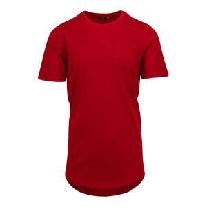 Men's Brian Brothers Solid Crewneck Tee - Red