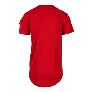 Men's Brian Brothers Solid Tee - Red