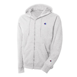 Men's Champion Reverse Weave Full Zip Hoodie - Grey