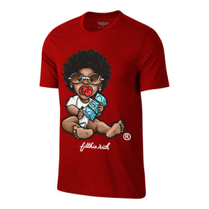 "Men's Filthie Rich ""OG Baby"" Tee - Red"