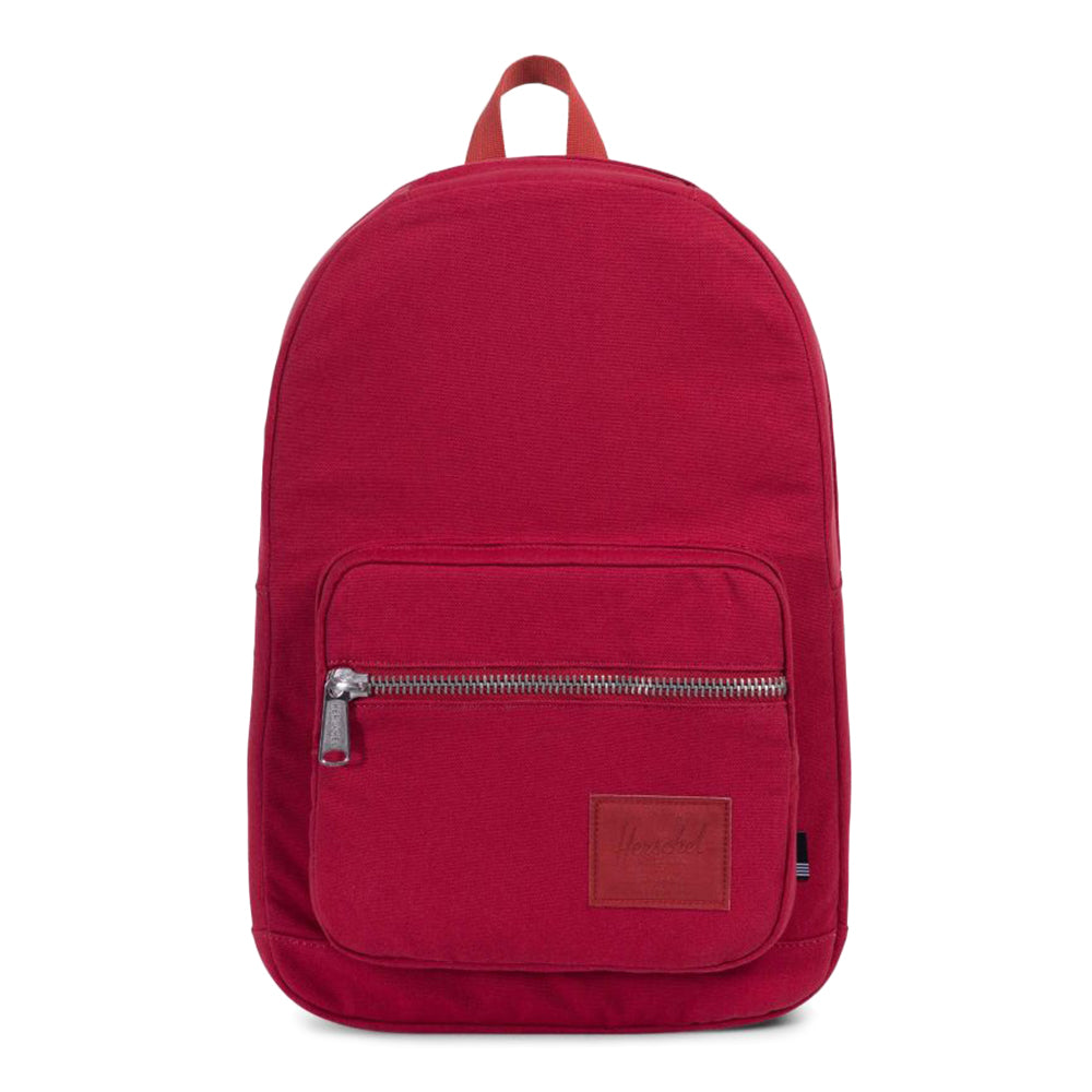 Herschel Pop Quiz Canvas Backpack - Red 05fa9a37d93c3