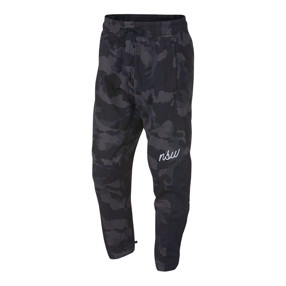 eeec3d97f0 Men's Nike NSW Woven Camo Pants - Obsidian Blue