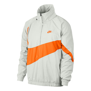 Men's Nike Sportswear Jacket - White/Orange