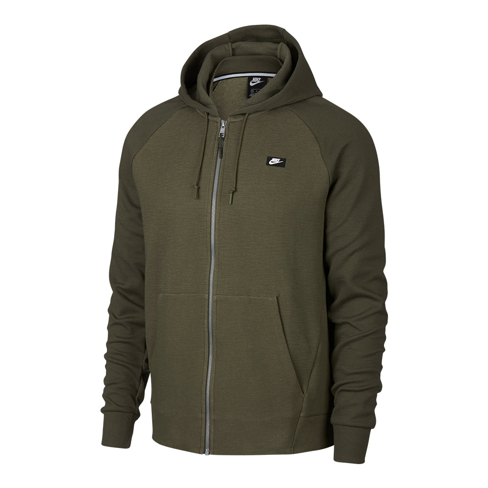 Men s Nike Sportswear Optic Full-Zip Hoodie - Green - Mr. Alan s 1d9287424