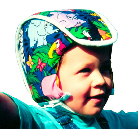 Plum's ProtectaCap® Protective Helmets for Babies and Children. Head Injury prevention helmet. Baby Head Safety. Toddler Helmets.