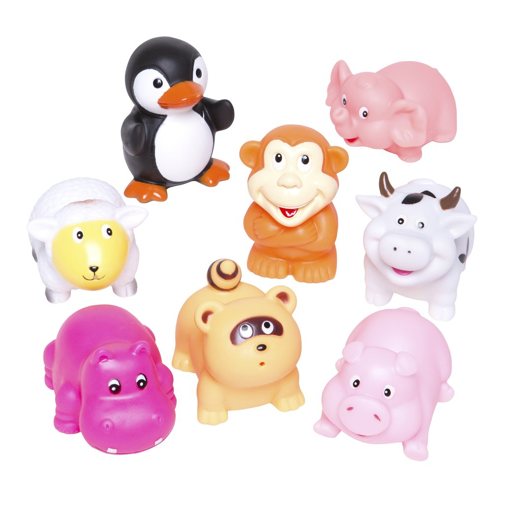 Animal Bath toys from elegant baby