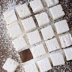 Vanilla Flavoured Marshmallows