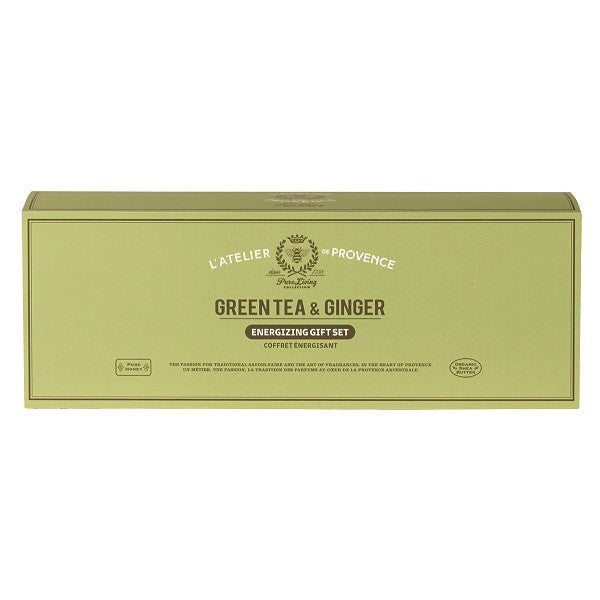 Atelier De Provence Green Tea Travel Set