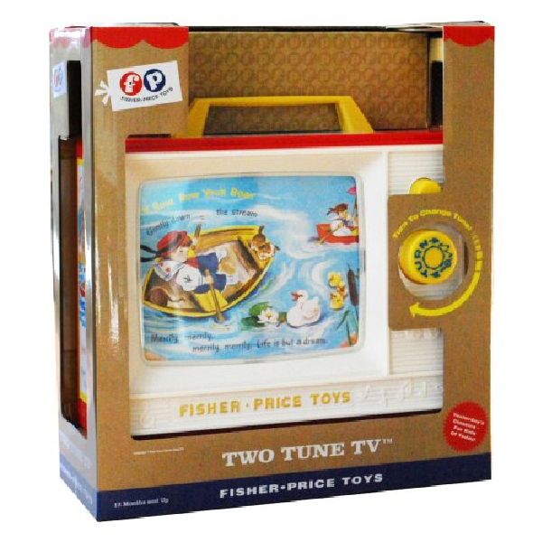 Fisher Price Two-Tune TV Toy