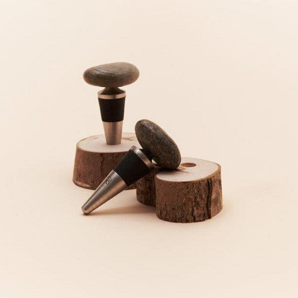 Sea Stone Wine Stopper