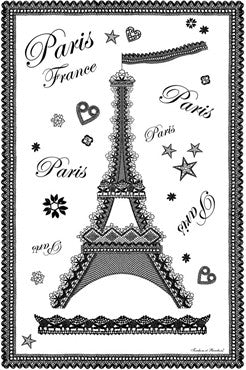 Paris Tea Towels