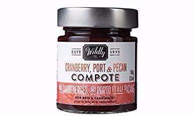 Wildly Delicious Compote cranberry and pecan