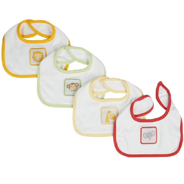 Animal Crackers Bibs (2pc)