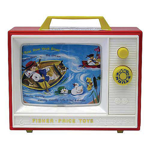 Fisher Price Two-Tune TV