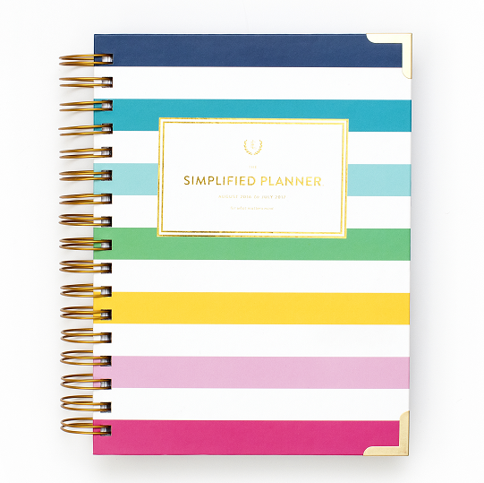 Emily Ley Simplified Planner = 2017 Calendar Daily