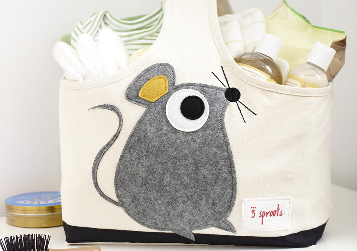 3 Sprouts Animal Storage Caddy tote