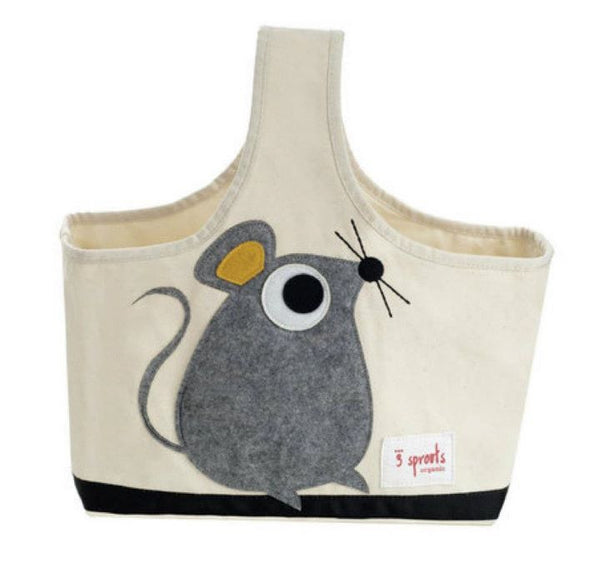 Animal Storage Caddy tote with mouse, bee or owl