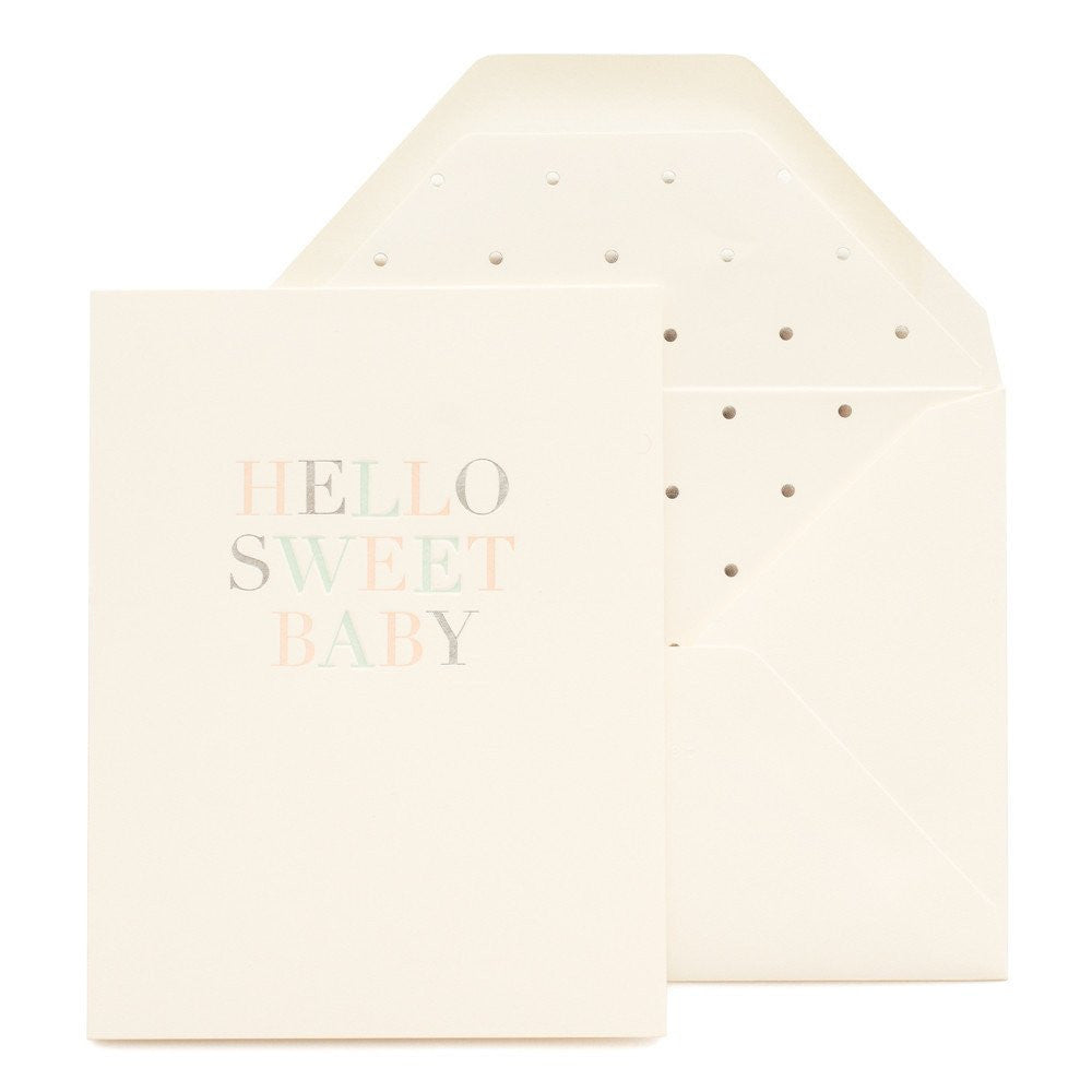 Baby and Newborn - Sugar Paper Cards