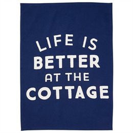 Life is Better at the Cottage Apron