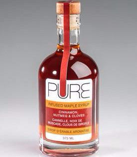 PURE Infused Maple Syrup