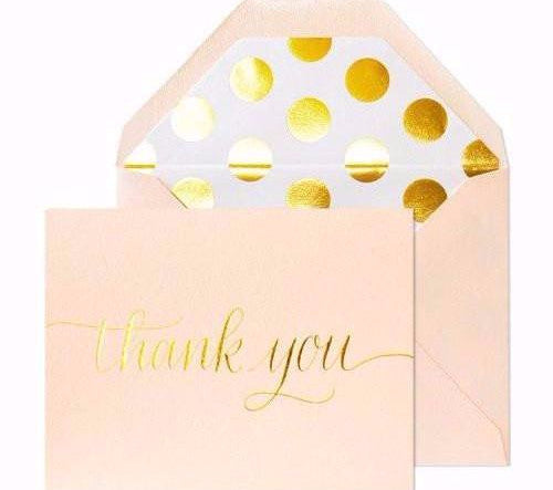 Thank You - Sugar Paper Cards