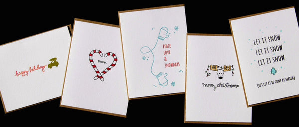 Holiday Greeting Cards from Carolyn Draws