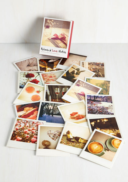 Polaroid Love Notes Cards