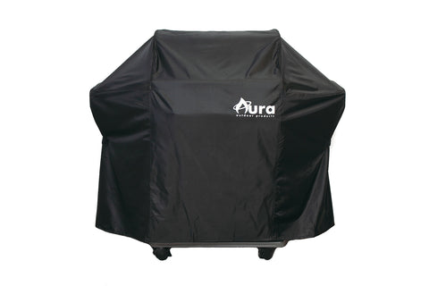 Heavy Duty Premium Weather Resistant Grilling Cover for Weber Spirit 200 and 300 Series Gas Grills - Aura Outdoor Products The Best Kamado Grills and Kamado Accessories. Ceramic Grill