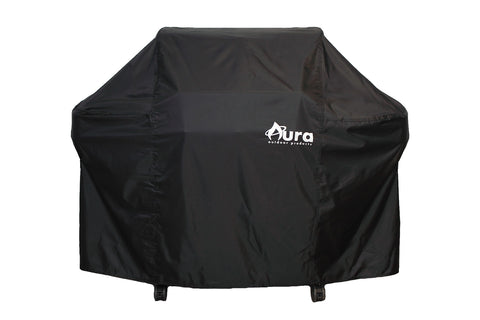 Heavy Duty Premium Weather Resistant Grilling Cover for Weber Genesis 300 Series Gas Grill - Aura Outdoor Products The Best Kamado Grills and Kamado Accessories. Ceramic Grill
