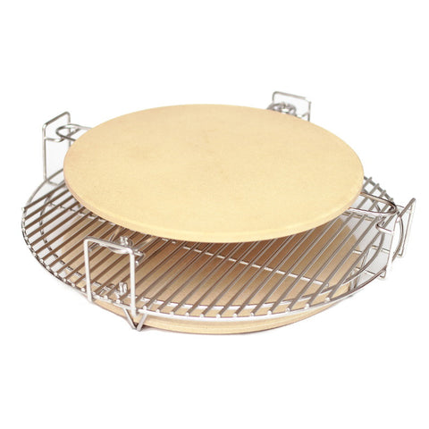 Pizza stone large 14 aura outdoor products for Perfect bake pro system