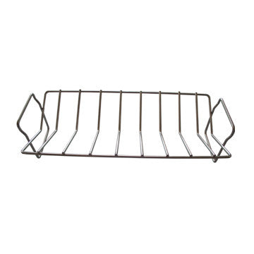 Stainless Steel Rib and Roasting Rack - Aura Outdoor Products The Best Kamado Grills and Kamado Accessories. Ceramic Grill