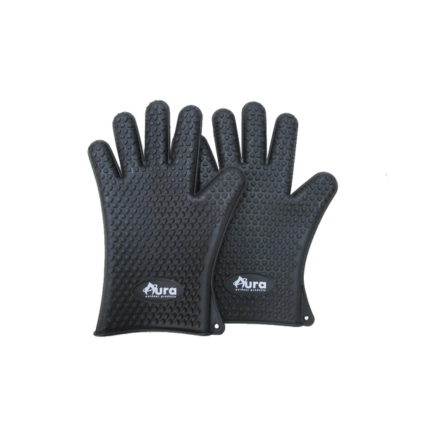 Silicone Heat Resistant Grill Gloves Pair - Aura Outdoor Products The Best Kamado Grills and Kamado Accessories. Ceramic Grill