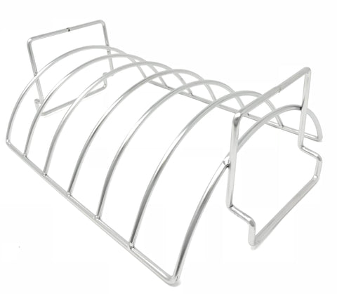 Stainless Steel Rib and Roasting Rack - Extra Deep