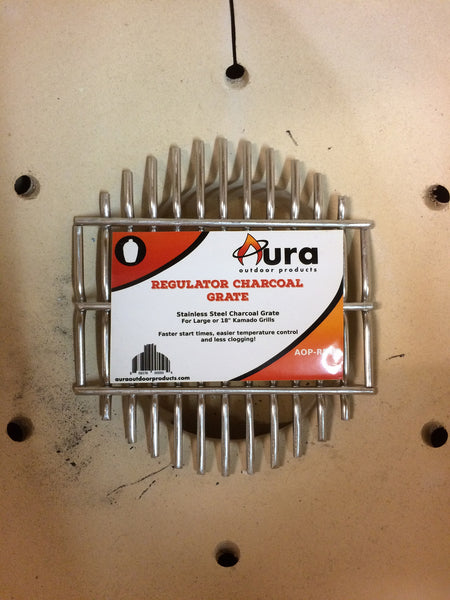 Aura Regulator Charcoal Grate - Aura Outdoor Products - 1
