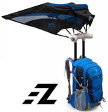 EZ FunShell Backpack Umbrella UV RAIN PROTECTIONS Tourist Series FS-2040