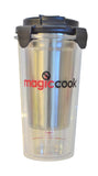 Magic Cook Triple layers Tumbler Bottle Cup Cooker Plus 1 Refill Heat Pack