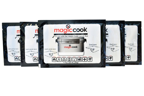 Refill Heat Packs for Magic Cook Lunch Box 5 Packs