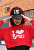 I Love House Music Hoodies Various Colors