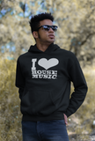 I Love House Music Gear Unisex Hoodies
