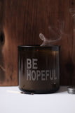 BE HOPEFUL Lemongrass Beeswax Candle